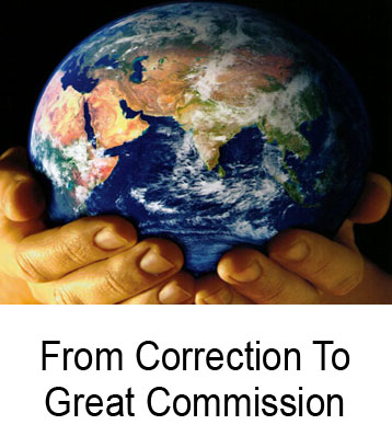 From Correction To Great Commission Henry Gruver