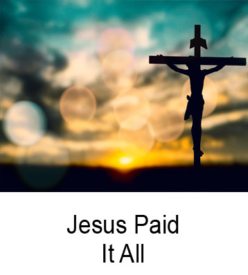 Jesus Paid It All Henry Gruver