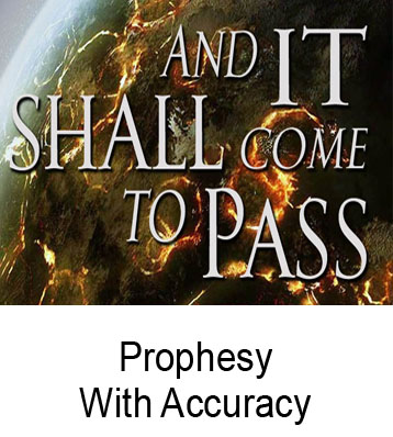 Prophesy With Accuracy Henry Gruver