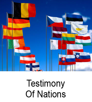 Testimony Of Nations Henry Gruver