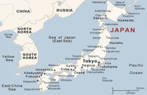Outreach Focus:  Japan